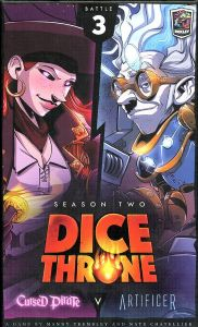 Dice Throne Season Two - Cursed Pirate vs. Artificer